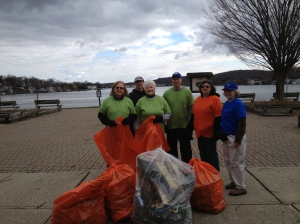 Musconetcong Watershed Clean Up 2013 - Hopatcong State Park
